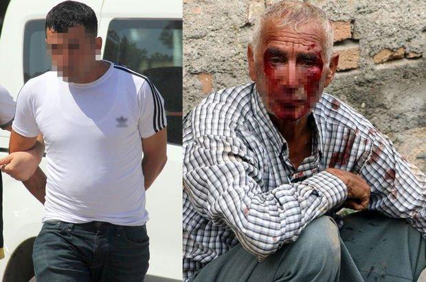 Adana'da yaşlı adamı öldüresiye dövüp, gasp eden zanlı yakalandı