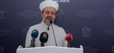 Diyanet İşleri Başkanı Mehmet Görmez, FETÖ raporunu açıkladı