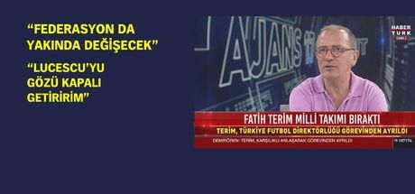 """Fatih Altaylı: """"Fatih Terim'e 'Ya sen ayrıl, ya da sözleşmeni feshedeceğiz' dediler"""""""