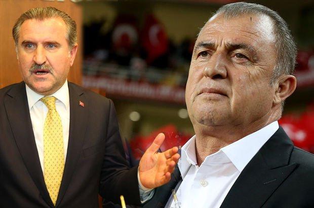 Gençlik ve Spor Bakanı Osman Aşkın Bak'tan Fatih Terim açıklaması