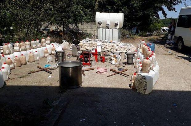 Sakarya'da tavuk çiftliğinde 1 ton uyuşturucu ele geçirildi