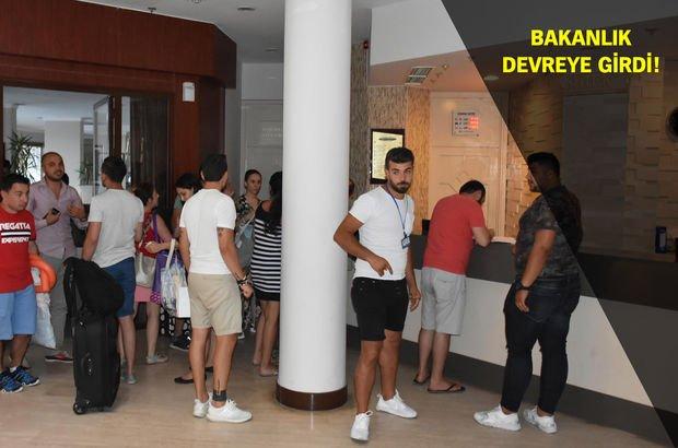 Muğla'da 5 yıldızlı otelde turistlere tahliye şoku!