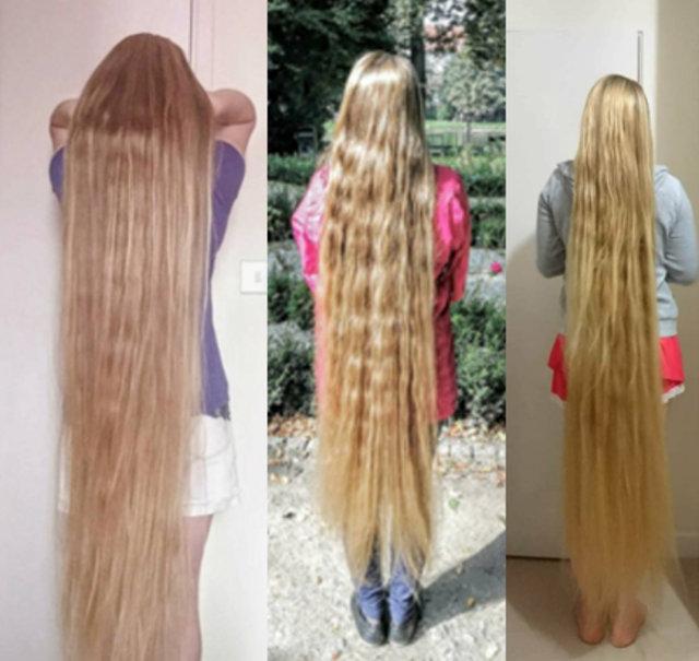 Dünyanın en uzun saçlı kişisi olmaya aday!
