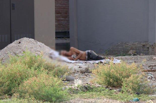 Adana'da çıplak halde yatan adamı ölü sandılar