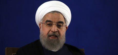 Ruhani'den ABD yaptırımlarına sert tepki
