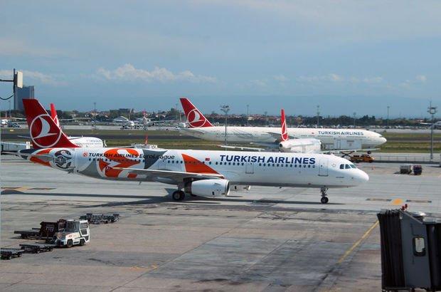 Pist başına ilerleyen Scat Airlines uçağı THY uçağına çarptı