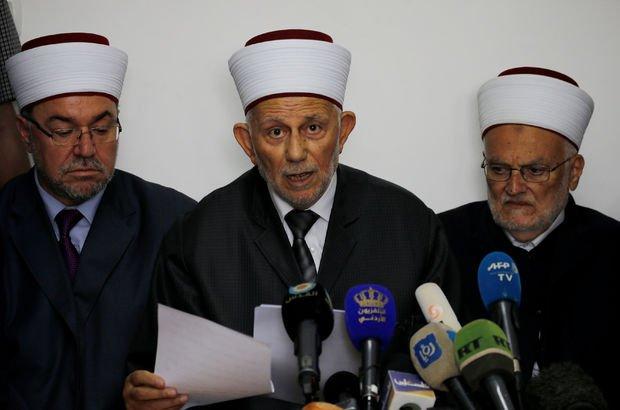 Mescid-i Aksa kısıtlamasının ardından Müslüman liderlerden karar!