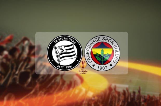 Fenerbahçe maçı hangi kanalda? Fenerbahçe Sturm Graz maçı saat kaçta?