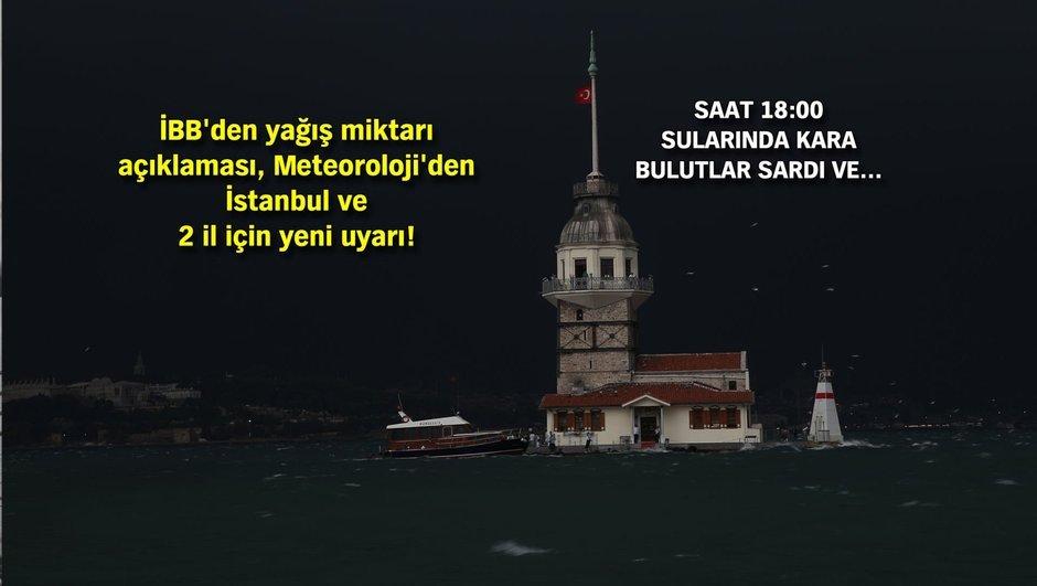 FLAŞ! İstanbulu kısa sürede fırtına, dolu, yağış vurdu!