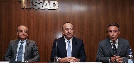 Dışişleri Bakanı Mevlüt Çavuşoğlu'ndan TÜSİAD'a ziyaret