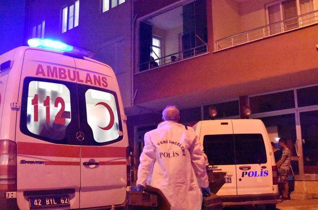 Konya'da cinnet getiren polis memuru eşini öldürüp intihar etti