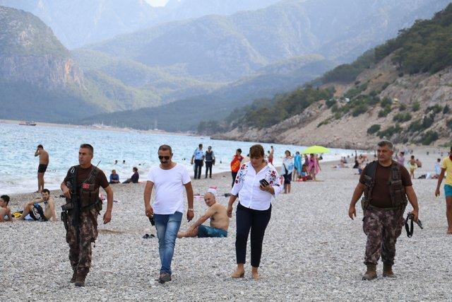 Antalya'da torpil atan şüphelilere, özel harekatçı operasyonu
