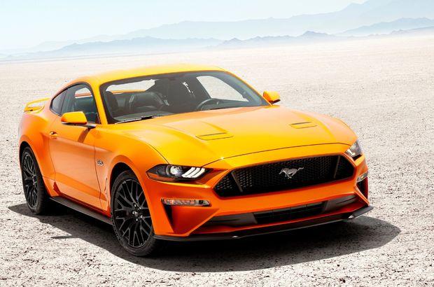 Mustang GT 460 beygirle geliyor