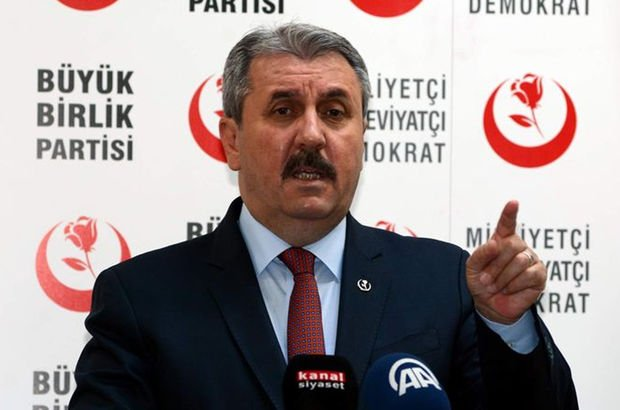 Erdoğan'dan Destici'ye geçmiş olsun telefonu