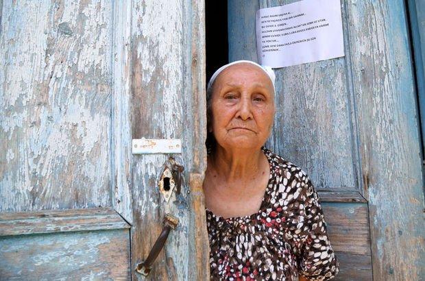 Antalya'da 3 defa evini soyan hırsıza kapısına astığı notla seslendi