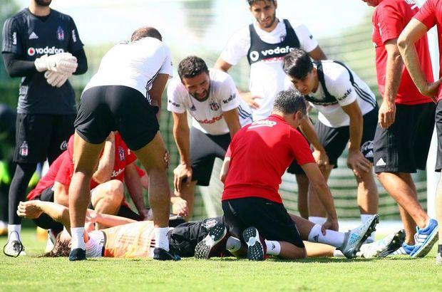 Beşiktaş'ta sakatlık şoku! Bağları koptu