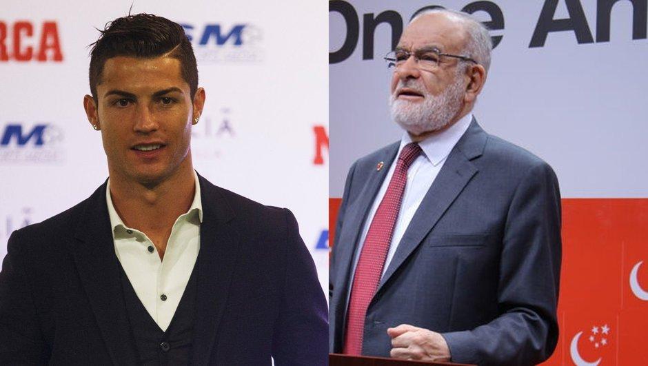Saadet Partisi'nden Cristiano Ronaldo'ya davet! Mektup Karamollaoğlu'ndan