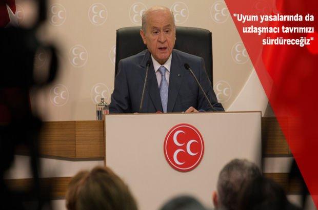 MHP Genel Başkanı Devlet Bahçeli CHP