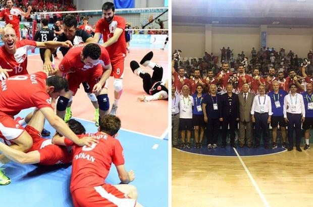 Türkiye Voleybol Erkek Milli Takımı, 2017 İşitme Engelliler Olimpiyatları,