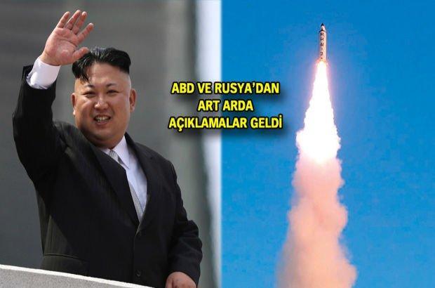 Kuzey Kore durmuyor! Bir füze denemesi daha!