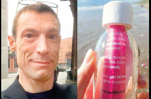İskoçya'da aşkını bulmak için denize 2 bin şişe bırakan adama ceza şoku!