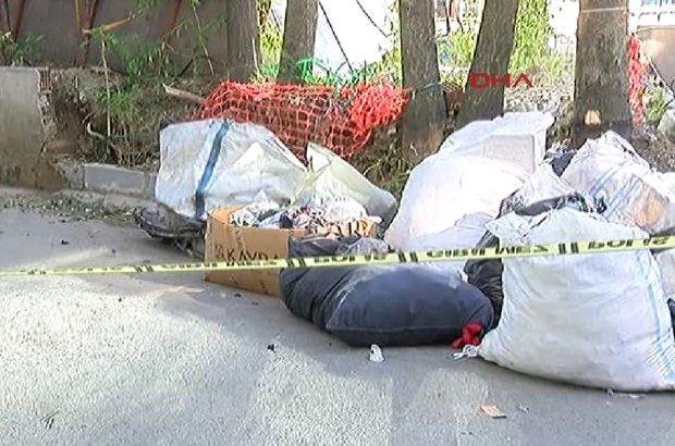 Bayrampaşa'da çuvalın içinde erkek cesedi bulundu