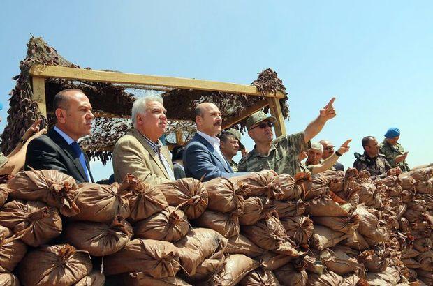 İçişleri Bakanı Süleyman Soylu, Çukurca'da güvenlik yolunu inceledi