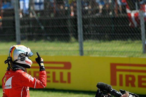 Macaristan'da pole pozisyonu Sebastian Vettel'in