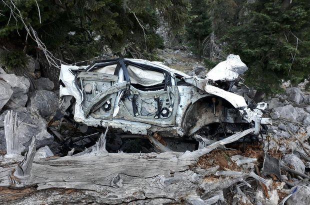 Antalya'da otomobil şarampole devrildi: 2 ölü, 2 yaralı