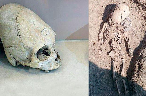 Kırım'da bulunan kafatası uzaylıya benzetildi