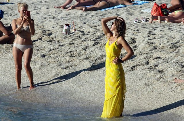 Turistler Alanya'ya gelmeye devam ediyor