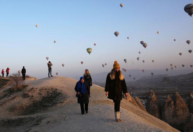 Kapadokya'yı 329 bin kişi izledi, katkısı ise 43 milyon euro oldu