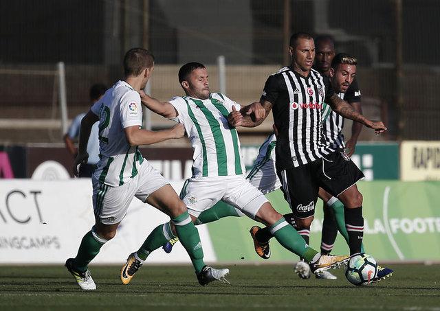 Beşiktaş Real Betis - MAÇ SONUCU