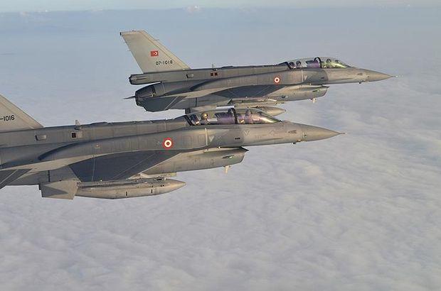 Kuzey Irak'a hava harekatı! Saldırı hazırlığındaki teröristler vuruldu