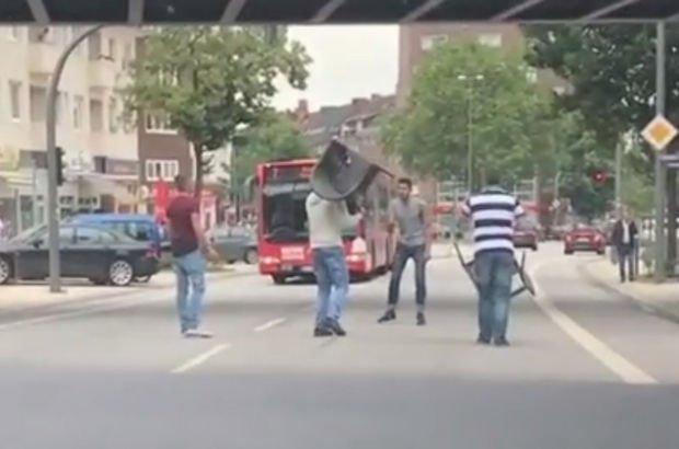 Hamburg saldırganını Bir türk durdurdu
