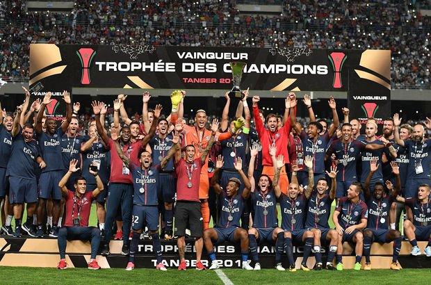 Paris Saint-Germain, Monaco'yu 2-1 yendi, Fransa Süper Kupası şampiyonu oldu