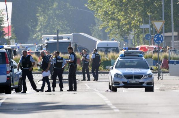 Almanya'da silahlı çatışma!