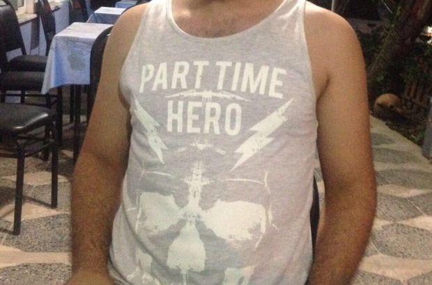'Part time hero' tişörtü giyen kişi serbest bırakıldı