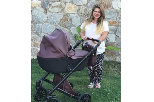 Damla Ersubaşı hamilelik kilolarından kurtulamadı
