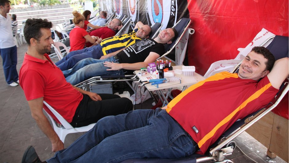 Kan bağışı Türk Kızılayı TFF
