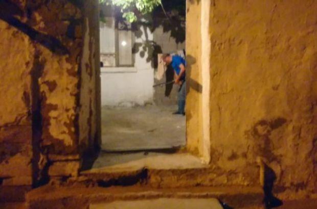 Konya'da misafirliğe giden kişi bacağından vuruldu