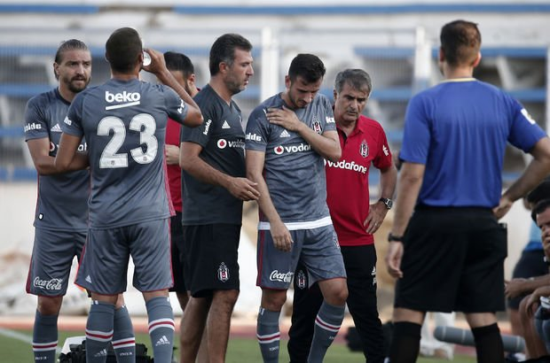 Beşiktaş hazırlık maçlarında galibiyet alamadı