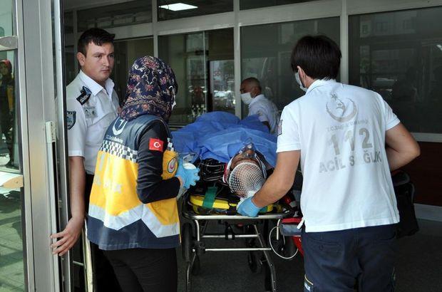 Kayseri'de Kimyasal dolu varil patlaması sonucunda 1 işçi ağır yaralandı