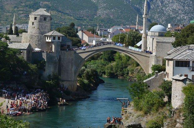 Mostar Köprüsü Geleneksel Atlama Yarışları gerçekleşti