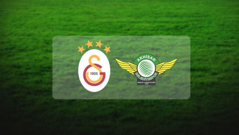 Galatasaray - Akhisar Belediyespor