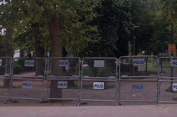 Yoğurtçu Parkı'nda güvenlik önlemi