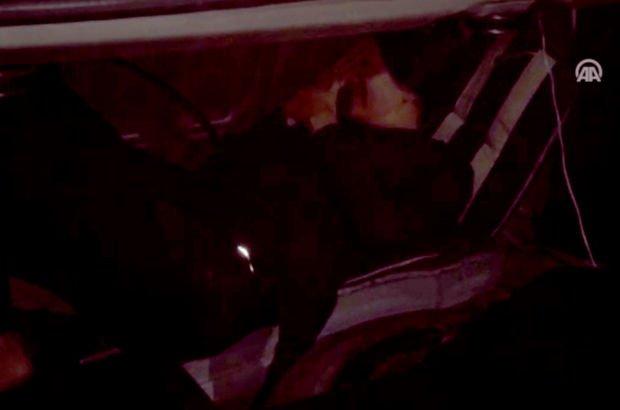 Otomobil bagajında sınırı geçmeye çalışırken yakalandı