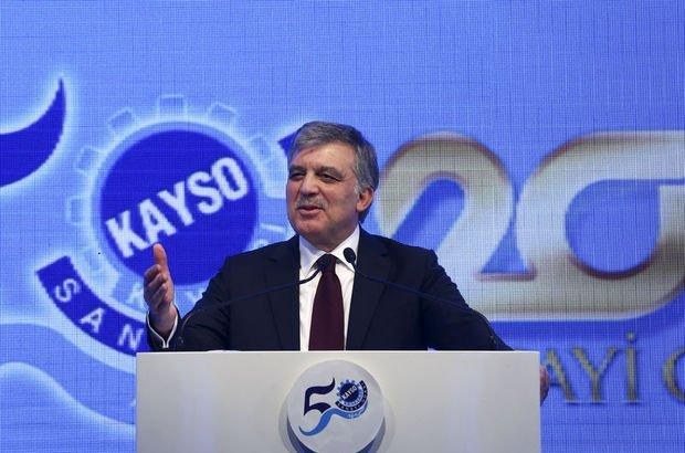 Abdullah Gül, görevinden ayrılan Mehmet Görmez ile ilgili açıklama yaptı