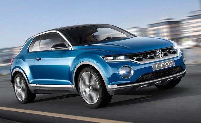 Volkswagen T-ROC crossover ile mini SUV segmentine giriyor