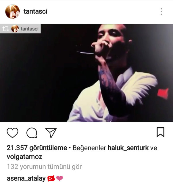 Asena Atalay ile ünlü şarkıcı böyle yakalandı